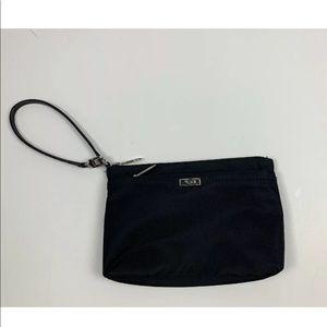 Tumi Pouch Zip Bag Travel Nylon Clutch Wristlet